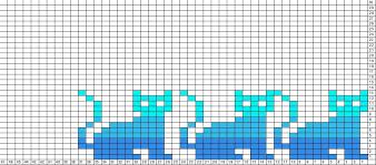 Cat Knitting Chart Tricksy Knitter Charts Cats Knitting Charts Fair Isle