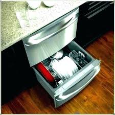 I Kitchenaid Drawer Dishwasher Not Draining Kitchen Aid  Fantastic Double Drawers Fisher