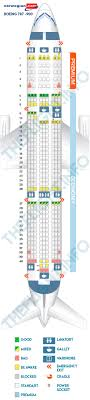 Boeing Dreamliner Seating Chart Seat Map Boeing 787 9 Norwegian Air Shuttle Best Seats In