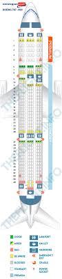 787 Dreamliner Seating Chart Seat Map Boeing 787 9 Norwegian Air Shuttle Best Seats In