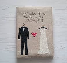 Wedding Plans Magnificent Wedding Planning Notebook Wedding Journal Applique A44