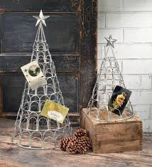 Free Standing Christmas Card Holder Display Christmas Tree Card Holder Stand Merry Christmas Happy New 21