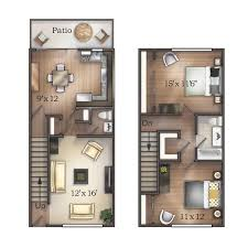 townhouse floor plans. Townhouse Furnish This Floor Plan Plans