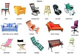 chair styles and names types of furniture design types of living room furniture chair types of