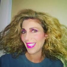 80s prom makeup lauren dimet waters in 80s makeup pink lipstick and big hair