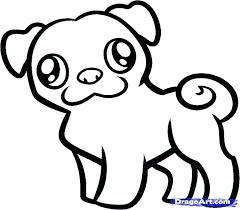 Adult Coloring Pages Pug At Getdrawingscom Free For Personal Use
