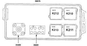 bmw 730 735i 735il 750il e32 1991 fuse box diagram auto bmw e32 fuse box auxiliary relay box 2