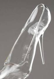 glass wedding shoes. wedding shoe ideas, glass shoes cinderella maison martin margiela slippers where it g