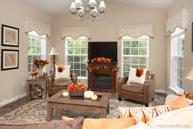 interior fall home decorations family room beautiful interior