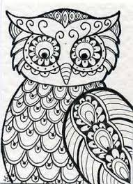 Small Picture owl coloring pages for adults Google Search Pinteres
