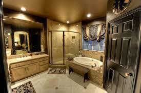 Master Bathroom Bathroom Charming White Interior In Master Bathroom Designs With