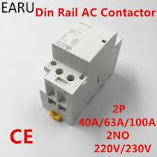 GPCT1 <b>2P 40A</b> 63A 100A <b>220V</b>/<b>230V 50</b>/<b>60HZ</b> Din Rail Household ...