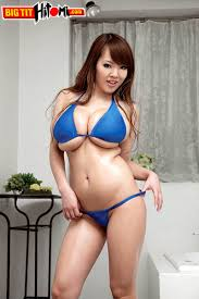 Big boobs squeezing bikinis