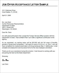 Job Offer Letter Template Sample Appointment Templates For