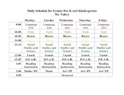 Timetable Template Custom Daily Timetable Template New Student Daily Schedule Template