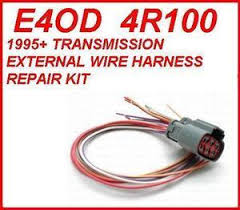 4r100 e4od transmission external solenoid harness repair kit fits Ford Diesel Wiring Harness at 2000 F350 4r100 Transmission Wiring Harness