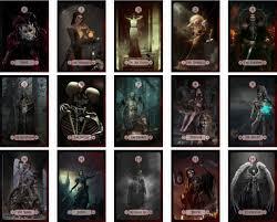 Darkness Of Light Tarot Review Faces Of Death Tarot 78 Cards Guidebook Fabian Laer