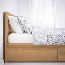 ikea storage bed frame. IKEA Malm Storage Bed In Oak Ikea Frame S