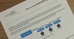 learning center application note how to wire dmx rdm lighting DMX Wiring Diagram 3 to 5 Pin learning center application note how to wire dmx rdm lighting systems eldoled