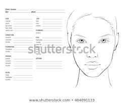 Blank Face Charts To Print Bright Blank Face Chart To Print Blank Face Chart For Makeup