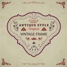 vintage frame design png. Vintage Frame Design With Antique Style Free PNG And PSD Png F