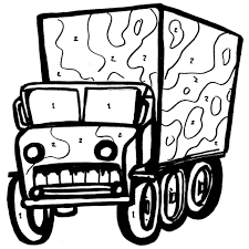 Small Picture Free Printable Army Truck Coloring Pages For Boys