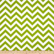 Premier Prints Zig Zag Chartreuse/White - Discount Designer Fabric -  Fabric.com