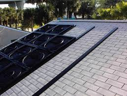 my homemade solar pool heater it is important not to kink the hose as once kinked it is hard to get it not to kink again