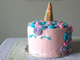 how to make a unicorn cake with no fondant