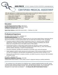 Free Medical Assistant Resume Template Fascinating Certified Medical Assistant Cover Letter Sarahepps
