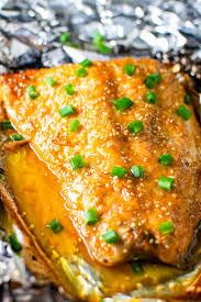 Sesame Ginger Salmon in Foil Recipe ...