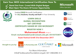 Microsoft Free Certification Blogs