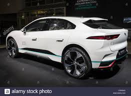 2018 jaguar concept. unique jaguar frankfurt germany  sep 12 2017 new 2018 jaguar ipace concept electric  suv car showcased at the frankfurt iaa motor show 2017 inside jaguar