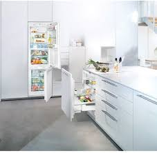 pull out refrigerator custom panel liebherr upr503 lifestyle view