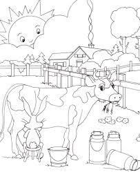 Coloriage De Vache Coloriage De Vache Laitire Pour Colorier