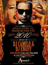 thanksgiving party flyer thanksgiving nightclub flyer 6 soultravelmultimedia