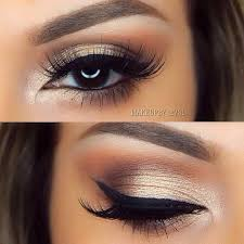wedding makeup for brunettes with brown eyes photo 1