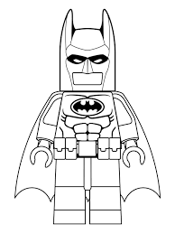 The Lego Movie Coloring Page Batman And Wonder Woman Printable For