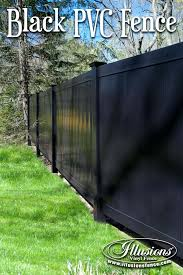 black vinyl privacy fence. Accessories Black Vinyl Fence With Fencing Ideas Decoration Pvc Canada Parts Roof Futons Privacy