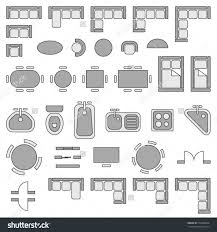 floor plan furniture symbols bedroom. Plans For Floor Room Bedroom House Home Plan Incredible Symbols Tables Furniture Clipart