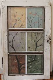 Old Window Frame Decor Windows Ideas For Painting Old Windows Inspiration 25 Best About