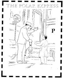 Small Picture Polar Express Coloring Pages GetColoringPagescom