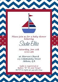 Free Templates For Invitations Birthday Custom Sailor By Shower Invitations Nautical Free Template Invitation