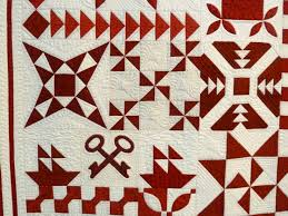 Best 25+ Houston quilt show ideas on Pinterest | Landscape quilts ... & detail from Barbara Black's Red and White - By the Numbers quilt - Houston  Quilt Show Adamdwight.com