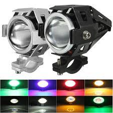 Fog Lights For Sale U7 Waterproof Motorcycle Led Driving Fog Light Spot Headlight