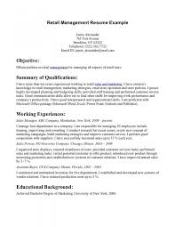 Resume Example Customer Service Resume Objective Qualifications Adorable Human Services Resume Objective