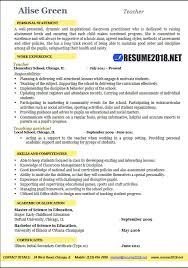Teaching Resume Magnificent Teacher Resume 60 Examples Resume 60