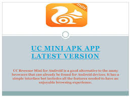 It has a simple interface but includes all the features needed to have an enjoyable browsing experience. Uc Mini Apk App Latest Version By Ajay Kumar Issuu