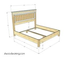 queen size headboard measurements smart inspiration dimensions of a queen size bed headboard bedroom