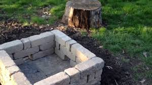 Concrete patio with square fire pit Outdoor Living Youtube New Outdoor Fire Pit Youtube